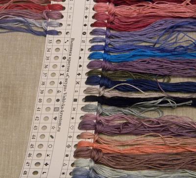 Органайзер в набре для вышивки VK