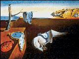 Вышивка крестом Время течет