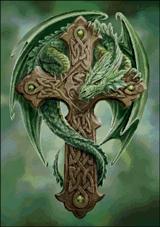 Вышивка крестом Лесной Страж