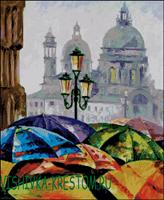 Вышивка крестом Зонты - Леонид Афремов