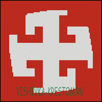 Вышивка крестом Богодар