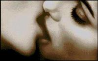 Вышивка крестом Поцелуй