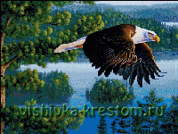 Вышивка крестом Крылья судьбы