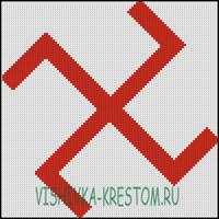 Вышивка крестом Посолонь