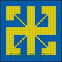 Вышивка крестом Радинец