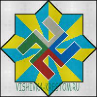 Вышивка крестом Расич