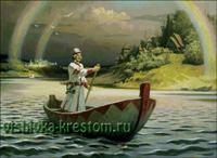 Вышивка крестом Русь великая