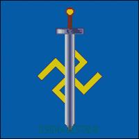 Вышивка крестом Символ Расы