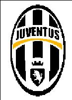 Вышивка крестом эмблема ФК Ювентус