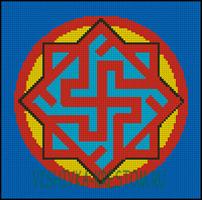 Вышивка крестом Валькирия