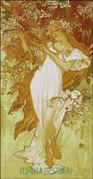 Вышивка крестом Весна