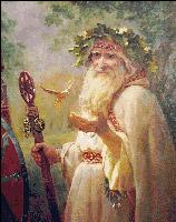 Вышивка крестом Волхв