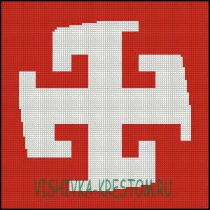 Схема для вышивки крестом: Богодар
