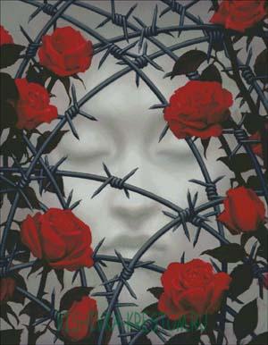 Схема для вышивки крестом: Сон души