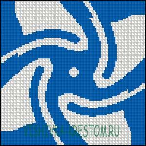 Схема для вышивки крестом: Нараяна