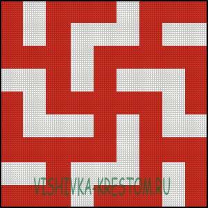 Вышивка крестом Новородник