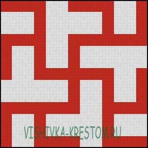 Схема для вышивки крестом: Одолень Трава