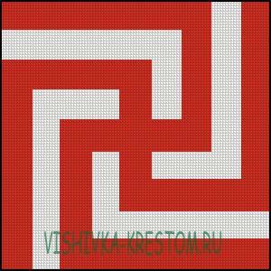 Схема для вышивки крестом: Рысич