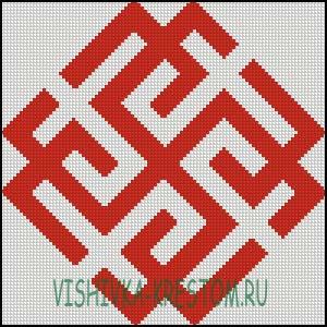 Схема для вышивки крестом: Родимич