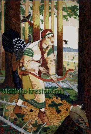 Вышивка крестом Сентябрь