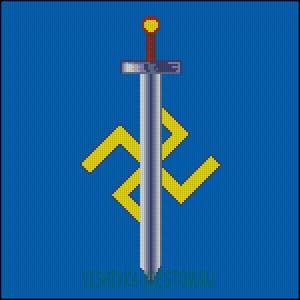 Схема для вышивки крестом: Символ Расы