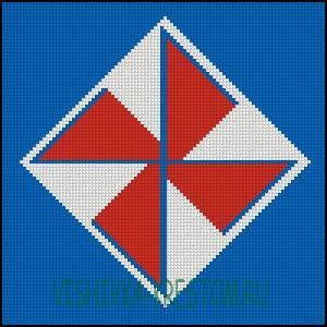 Схема для вышивки крестом: Стрибожич