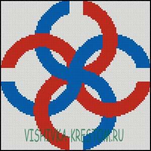 Схема для вышивки крестом: Свадебник