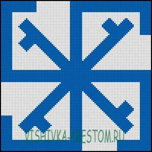 Вышивка крестом Сварга