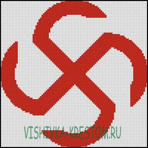 Схема для вышивки крестом: Яровик