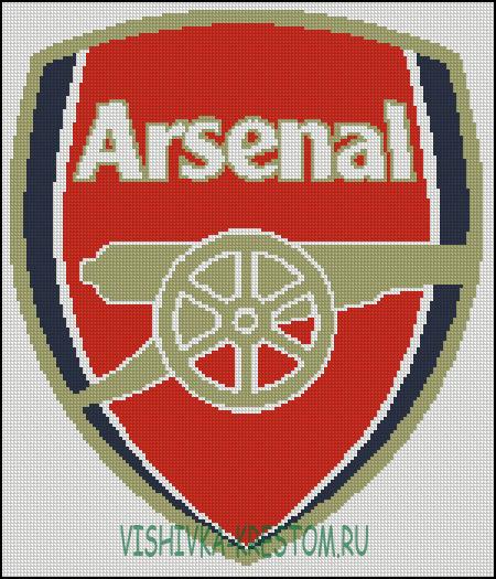 Вышивка футбольный клуб