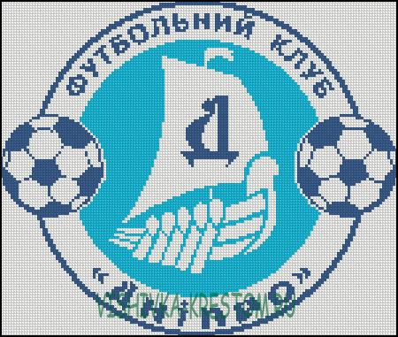Вышивка крестом схема эмблема футбольного клуба барселона