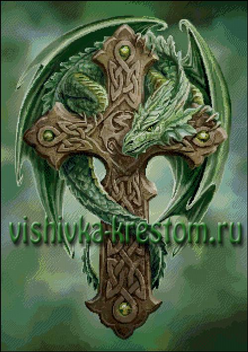 Вышивка крестом Лесной