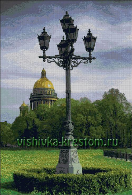 Вышивка крестом Питерские