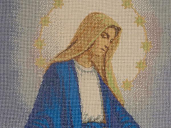 Фрагмент картины Дева Мария
