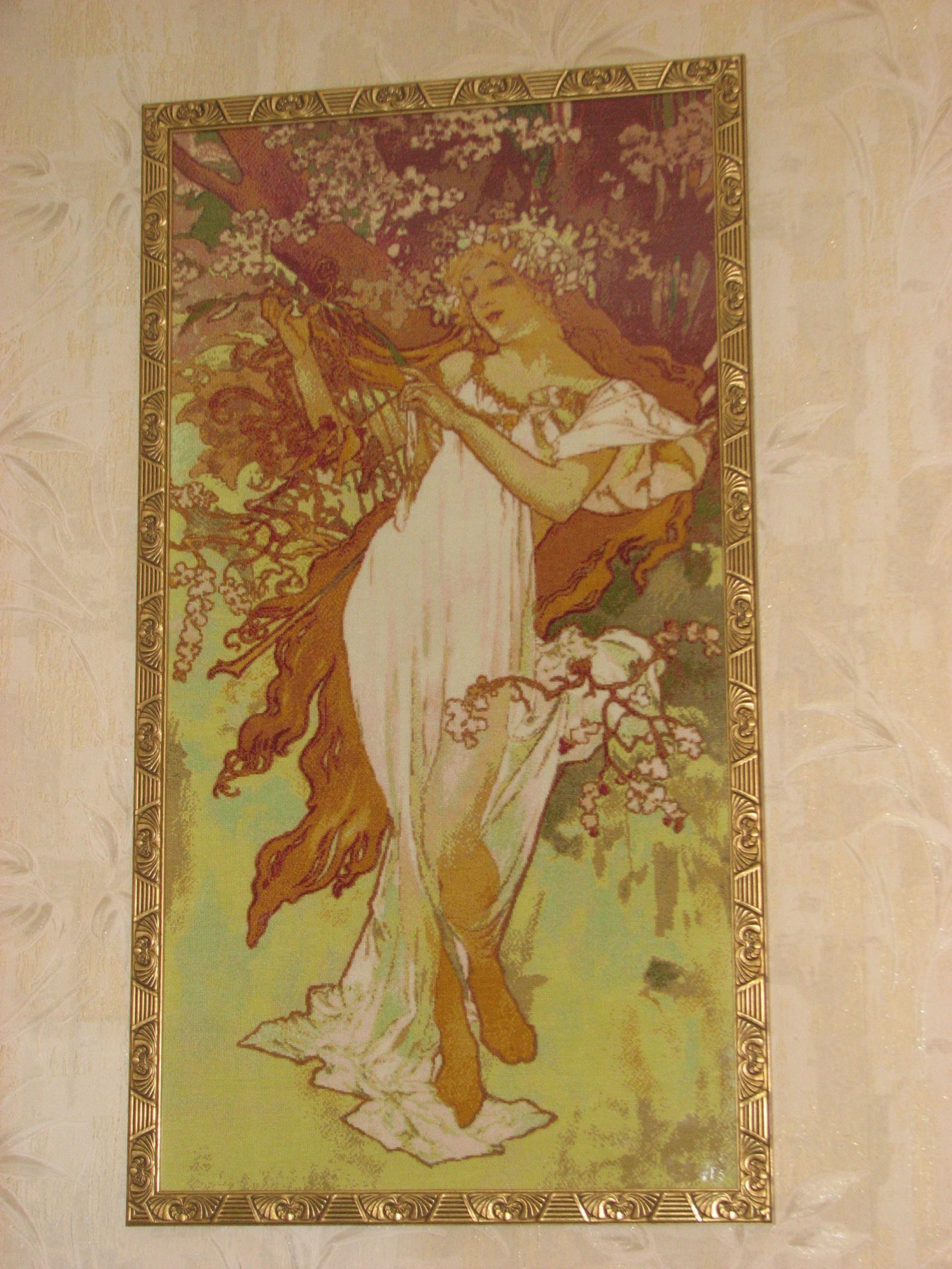 Галерея картин вышивка крестом