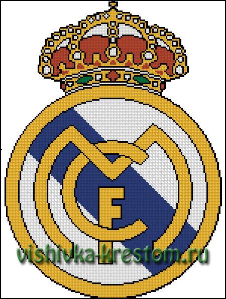 Схемы вышивок футбольных клубов