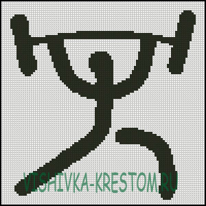 Вышивка крестом спортивная