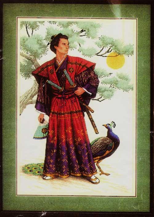 вышивка по подбору Величественный самурай